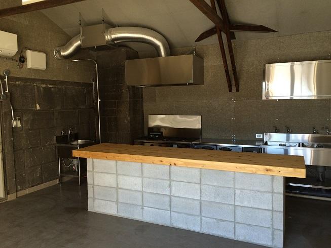 小屋キッチン